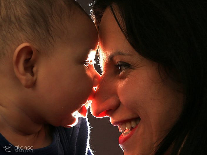 Book bebê em estúdio fotográfico em Florianópolis