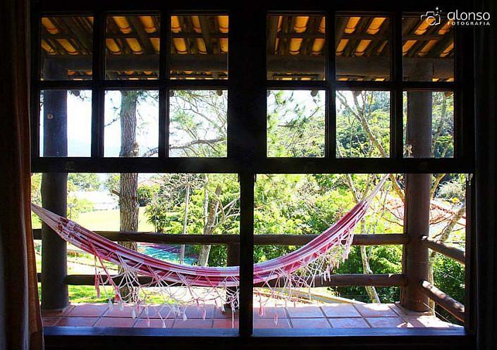 Rede cabana Hotel Praia Mole em Florianópolis