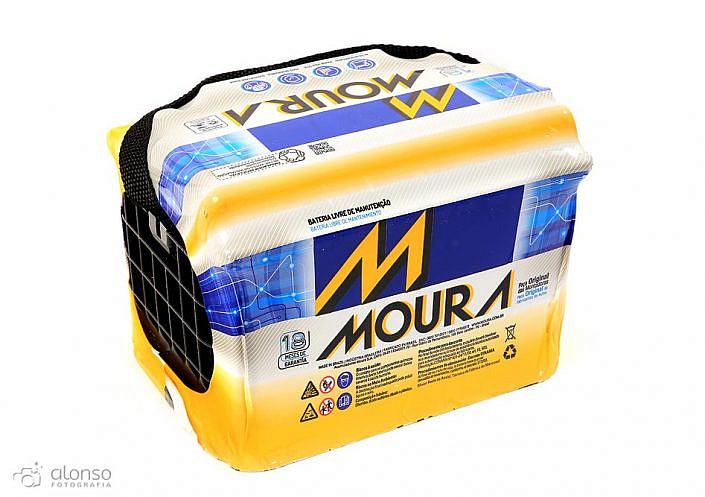 Bateria Moura Casa Grande Fotografia de produto