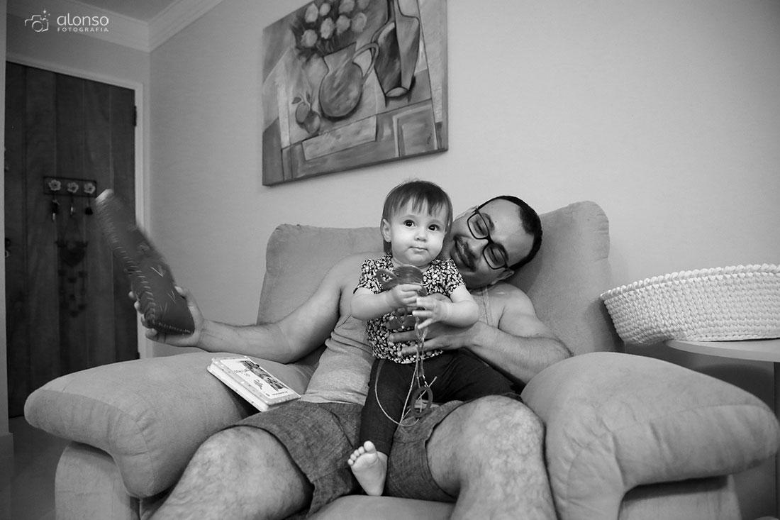 Fotografia documental de família em Florianópolis