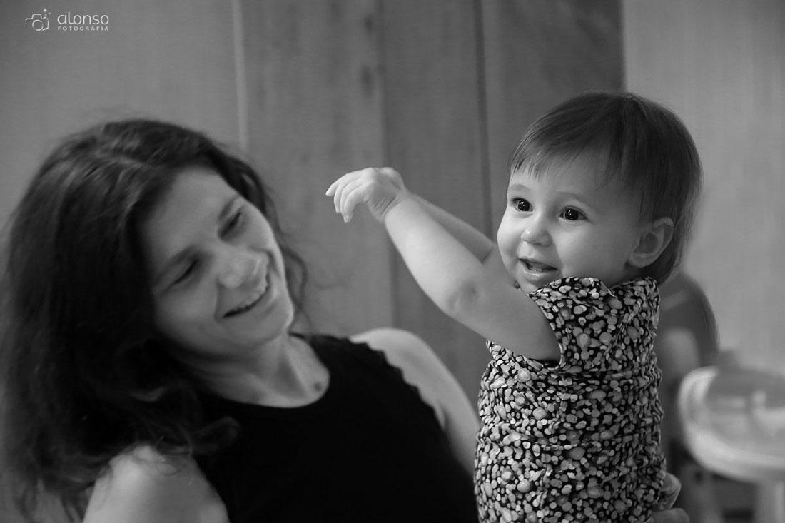 Fotografia documental em Florianópolis mãe e filha