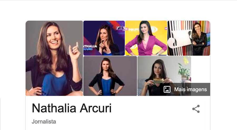 Nathalia Arcuri foto de perfil profissional