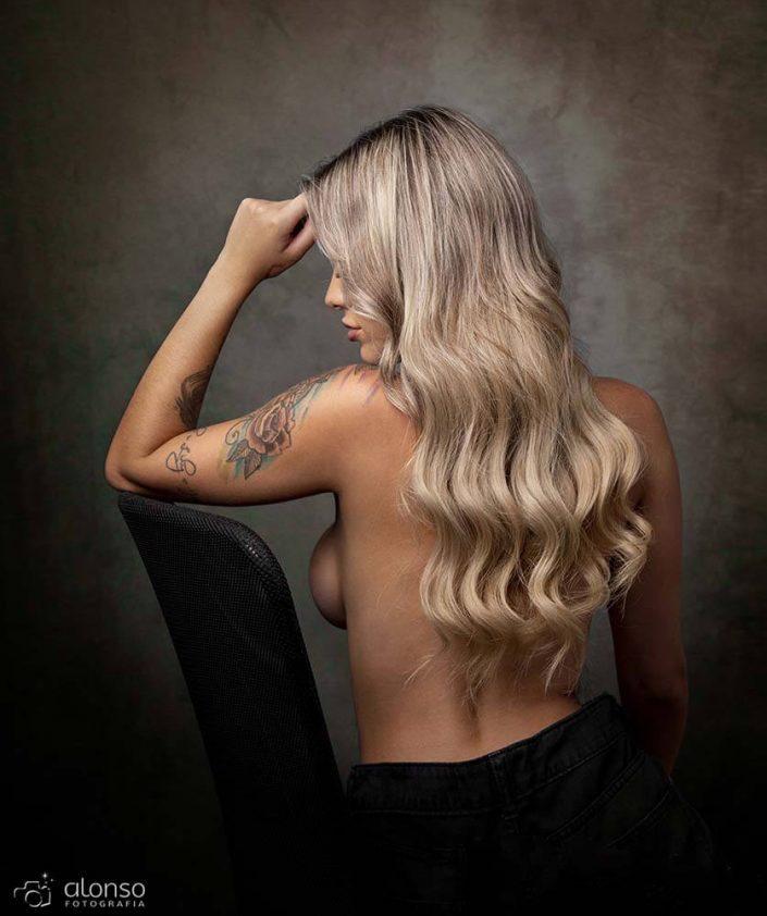 cabelo ensaio sensual